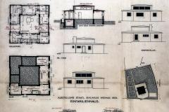 Plans de Georg Muche