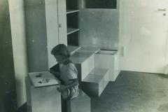 Vue de la chambre des enfants, exposition 1923