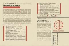 Lásló Moholy Nagy,  Design graphique pour publications du Bauhaus