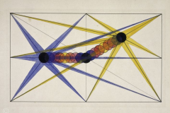 Lena Meyer Berguer, Centre lumineux à la dérive, Cours Paul Klee, 1927