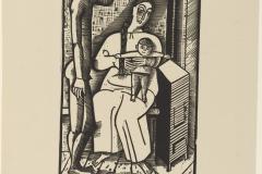 Gerhard Marcks, By the Stove, Master Portfolio, 1923
