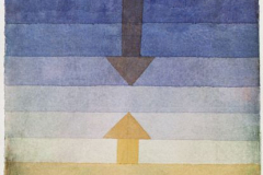 Paul Klee, Separation in the Evening, 1922