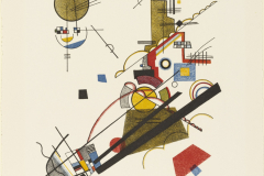 Wassily Kandinky, Joyous Ascent,  Master Portfolio, 1923