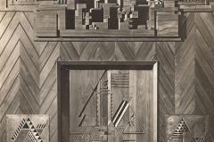 Joost Schmidt, Murs sculptés pour la Maison Sommerfeld