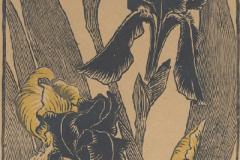 Iris, gravure sur bois, 1895 (Musée des Beaux-arts de San Francisco)